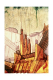 Electric Power Plant, 1914 Giclee Print by Antonio Sant'Elia