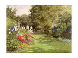 A Garden in July, c.1910 Giclee Print by Violet Common