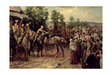 The Relief of Ladysmith, on 27th February 1900 Giclee Print by John Henry Frederick Bacon