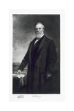 Rutherford B. Hayes, 19th President of the United States of America, Pub. 1901 Giclee Print by Daniel Huntington