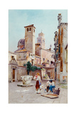 A Piazza in Venice, 1901 Giclee Print by Alexandre Nicolaievitch Roussoff