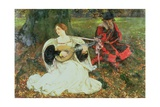 Fair Is My Love, 1900 Giclee Print by Edwin Austin Abbey