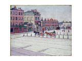 Cumberland Market, North Side, 1912 Giclee Print by Robert Polhill Bevan