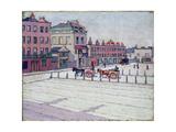 Cumberland Market, North Side, 1912 Giclee Print by Robert Polhill Bevan
