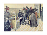 Anti-Rabies Vaccination at the Pasteur Institute, c.1900 Giclee Print by Louis Tinayre