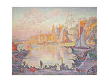 The Port of St. Tropez, c.1901 Giclee Print by Paul Signac