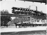 The Electric Train at the Universal Exhibition of 1900, Paris Photographic Print by  Gaillard