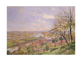 View of Boulogne Sur Seine, c.1900 Giclee Print by Louis Tauzin