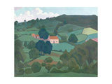Burford Farm, Devon, 1918 Giclee Print by Robert Polhill Bevan