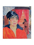 Concierge in Paris, 1918 Giclee Print by Boris Dmitrievich Grigoriev