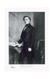 Franklin Pierce, 14th President of the United States of America, Pub. 1901 Reproduction procédé giclée par George Peter Alexander Healy
