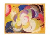 Still Life with Apples, 1915 Giclee Print by Alexander Bogomazov