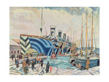 'Olympic' with Returned Soldiers 1919 Giclee Print by Arthur Lismer