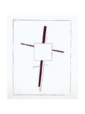 Suprematist Cross, 1920 Impression giclée par Kasimir Malevich