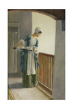 The Laundry Maid, c.1920 Giclee Print by William Henry Margetson