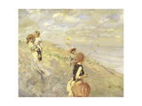 The Sand Dunes, 1907 Giclee Print by Ettore Tito