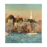 October Sundown, Newport, 1901 Giclee Print by Childe Hassam