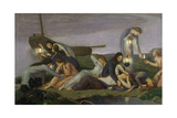 The Wise and Foolish Virgins, 1919-20 Giclee Print by Charles Haslewood Shannon