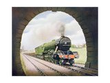 The 'Queen of Scots' of the North Eastern Railway, Illustration from 'The Wonder Book of… Giclee Print by  English School