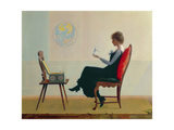 The Suitors, c.1910 Giclee Print by Harry Wilson Watrous