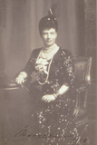 Portrait of Empress Maria Feodorovna, 1908 Photographic Print by  Russian Photographer