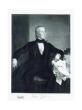John Tyler, 10th President of the United States of America, Pub. 1901 Giclee Print by George Peter Alexander Healy