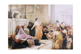 Mark Antony's Oration Giclee Print by George Edward Robertson