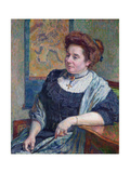 Madame Maurice Denis, 1908 Giclee Print by Theo Van Rysselberghe