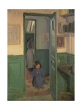 In Sickert's House, 1907 Giclee Print by Harold Gilman