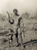 Australian Aborigines Photographic Print by Vincent Clarence Scott O'Connor