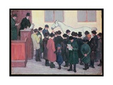 Under the Hammer Giclee Print by Robert Polhill Bevan