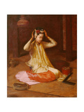 A Burmese Dancer, c.1920 Giclee Print by James Raeburn Middleton
