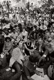 The March on Washington: A Crowd of Seated Marchers, 28th August 1963 Photographic Print by Nat Herz