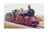 'Wilkinson' of the Great Western Railway, Illustration from 'The Book of the Locomotive' by G.… Giclee Print by  English School