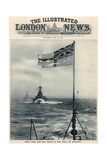 'Keep Then the Sea, Which Is the Wall of England', from 'The Illustrated London News Royal Naval… Giclee Print by  English School
