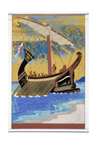 The Ship of Odysseus, from 'Homer: The Odessy', Published Paris 1930-33 Giclee Print by Francois-Louis Schmied