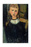 Lucienne, c.1916-17 Giclee Print by Amedeo Modigliani