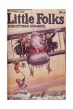 Illustration for the Cover of 'Little Folks', December 1916 Giclee Print