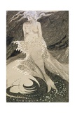 No.2490 The Mermaid Giclee Print by Sidney Herbert Sime