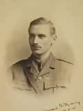 Viscount Bernard Law Montgomery (1887-1976) as Brigadier Major of the 91st Infantry Brigade, 17th… Photographic Print by  English School