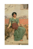 Sweet Dreams, 1901 Giclee Print by John William Godward