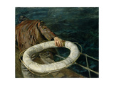 Man Overboard, 1906 Giclee Print by Christian Krohg