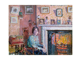 Interior, Mornington Crescent, 1910 Giclee Print by Spencer Frederick Gore