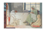 The Foster Mother, 1925 Gicleetryck av Frederick Cayley Robinson
