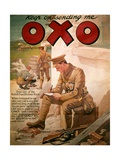 Poster Advertising 'OXO', from World War I Giclee Print by Frank Dadd