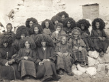 Group of Nuns at the Taktsang Monastery, Bhutan, 1904 Photographic Print by John Claude White