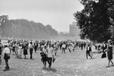 The March on Washington: Heading Home, 28th August 1963 Photographic Print by Nat Herz