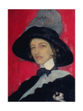 Self-Portrait, 1910 Giclee Print by Yelisaveta Sergeyevna Kruglikova