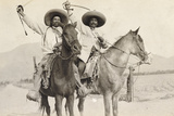 Two Zapatista Generals, Mexico, 1915 Photographic Print by W. Young Harkness