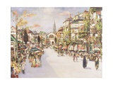 Place Verte, Antwerp Giclee Print by James Kay